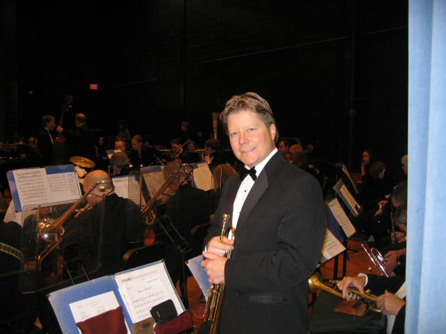 Mike Ponella Trumpet Player with New Haven Symphony Orchestra